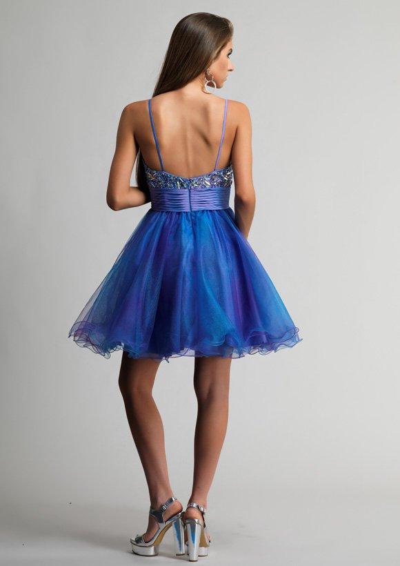 9896 sukienka krótka - Suknie wieczorowe