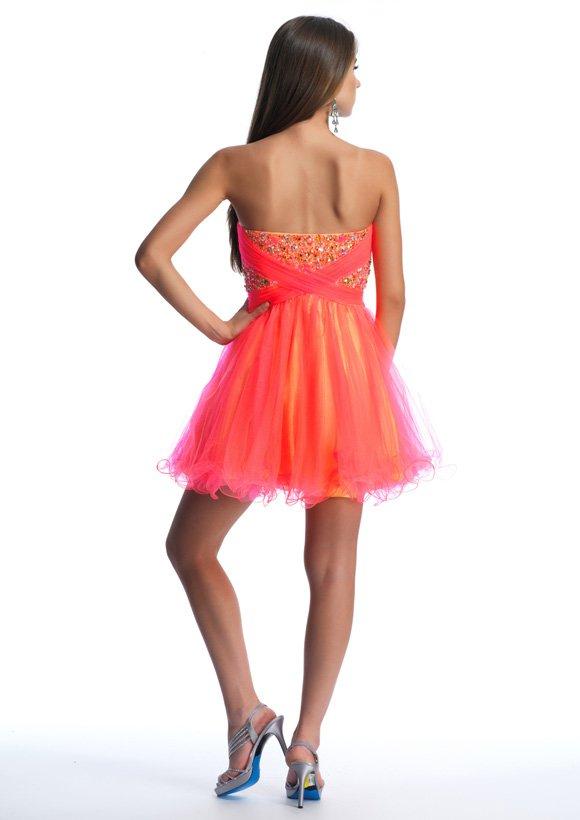 10392 sukienka krótka - Suknie wieczorowe