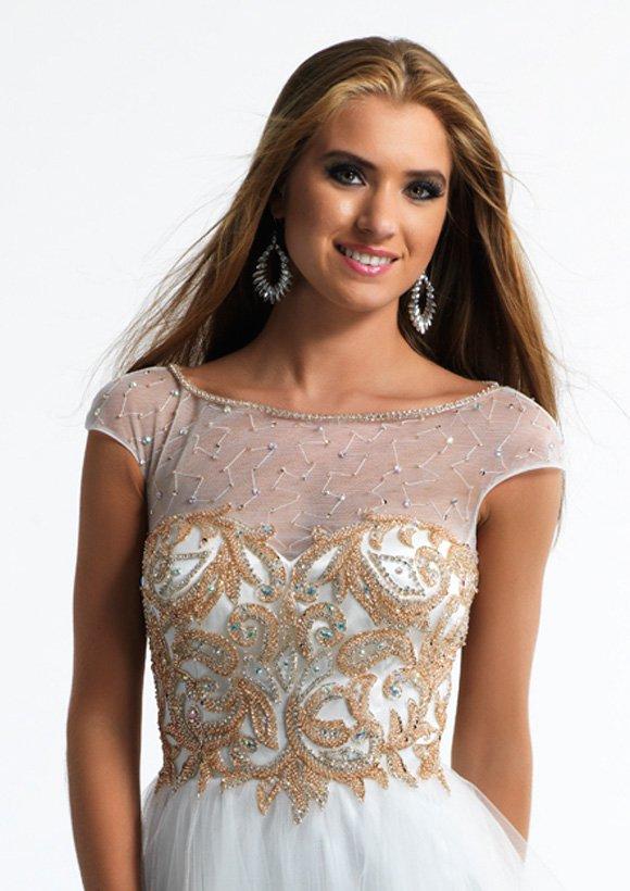 10422 sukienka krótka - Suknie wieczorowe