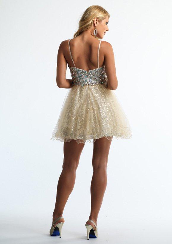 10624 sukienka krótka - Suknie wieczorowe