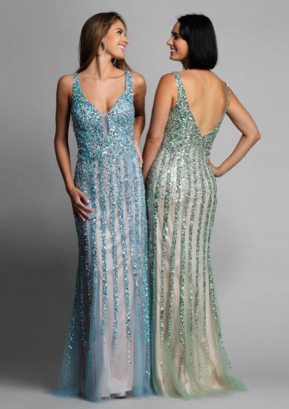 8157 suknia wieczorowa - Suknie wieczorowe