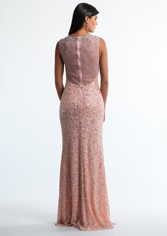 9707 suknia wieczorowa -
