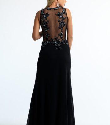 Zmysłowa suknia wieczorowa 9983