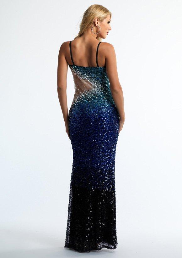 10172 suknia wieczorowa - Suknie wieczorowe