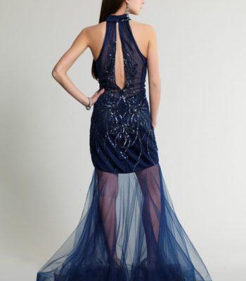 320 sukienka krótko-długa