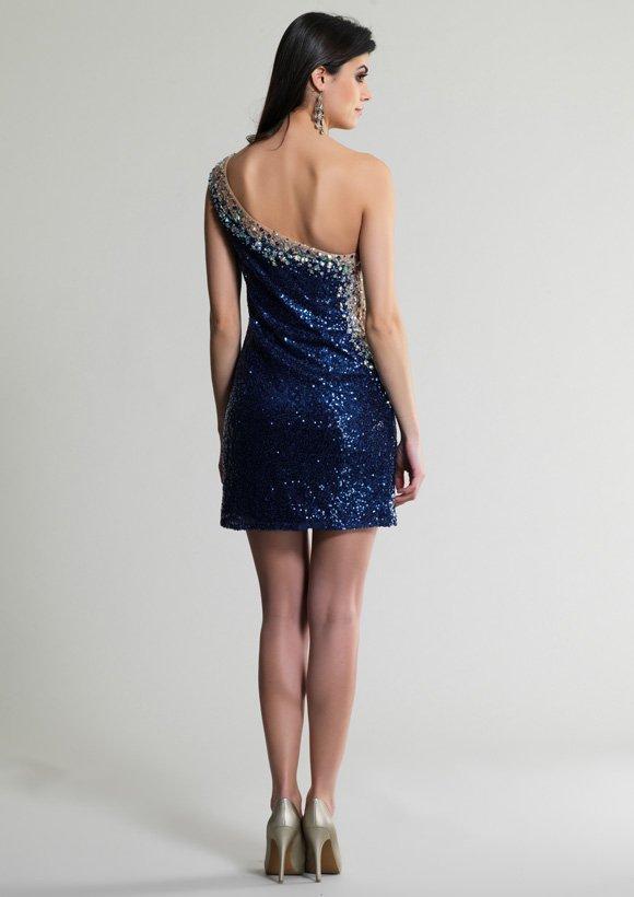 418  sukienka krótka - Suknie wieczorowe