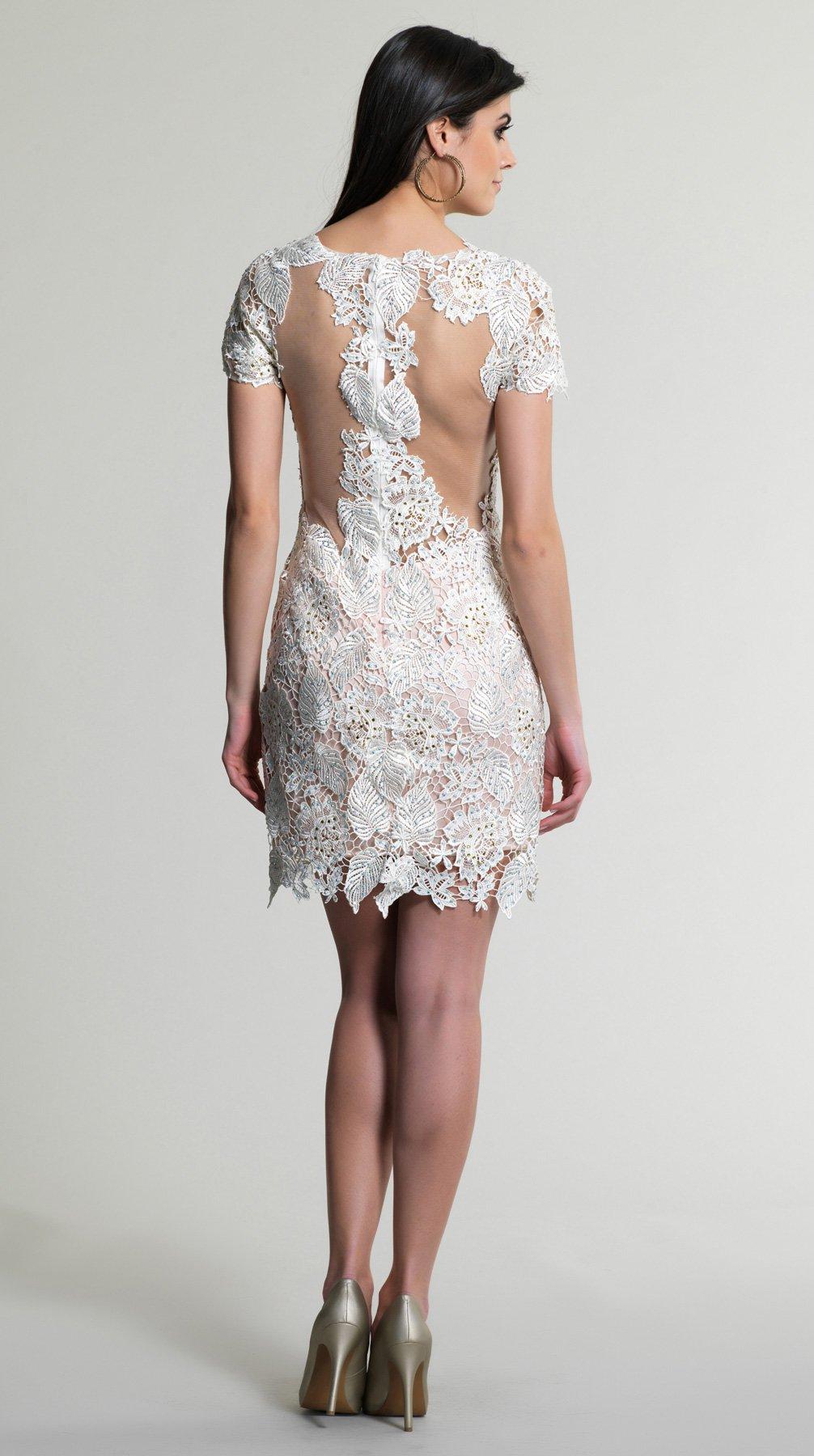 561  sukienka krótka - Suknie wieczorowe