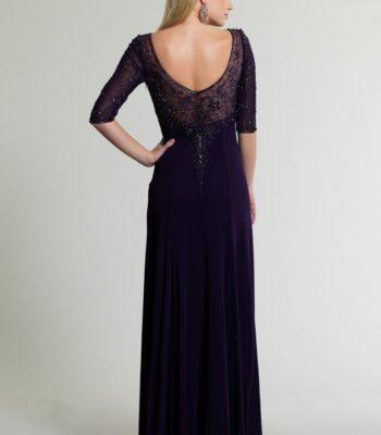 Suknia wieczorowa w kolorze atramentu 10682