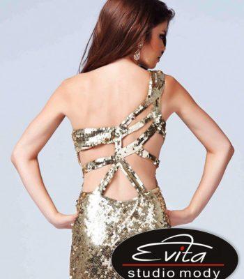 Suknia wieczorowa z rozcięciem 3995
