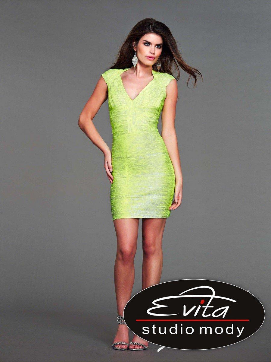 40333 sukienka krótka - Suknie wieczorowe