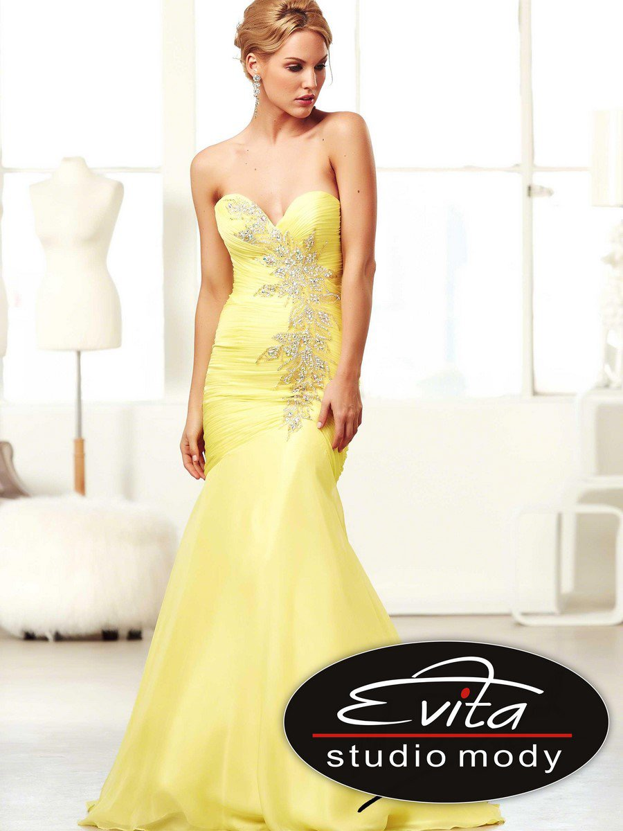 48124 suknia wieczorowa - Suknie wieczorowe