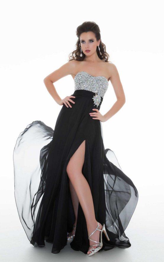 61207 suknia sylwestrowa