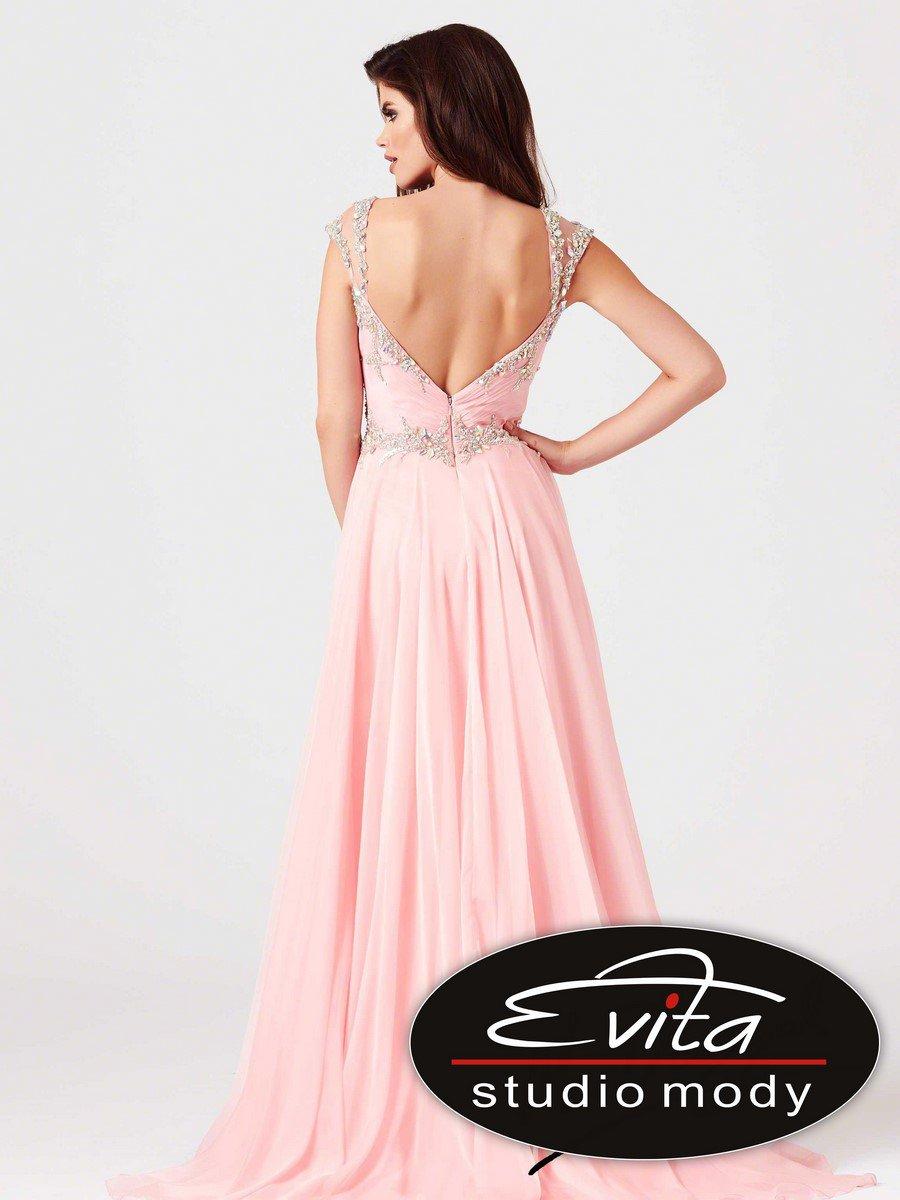 64696 suknia wieczorowa - Suknie wieczorowe