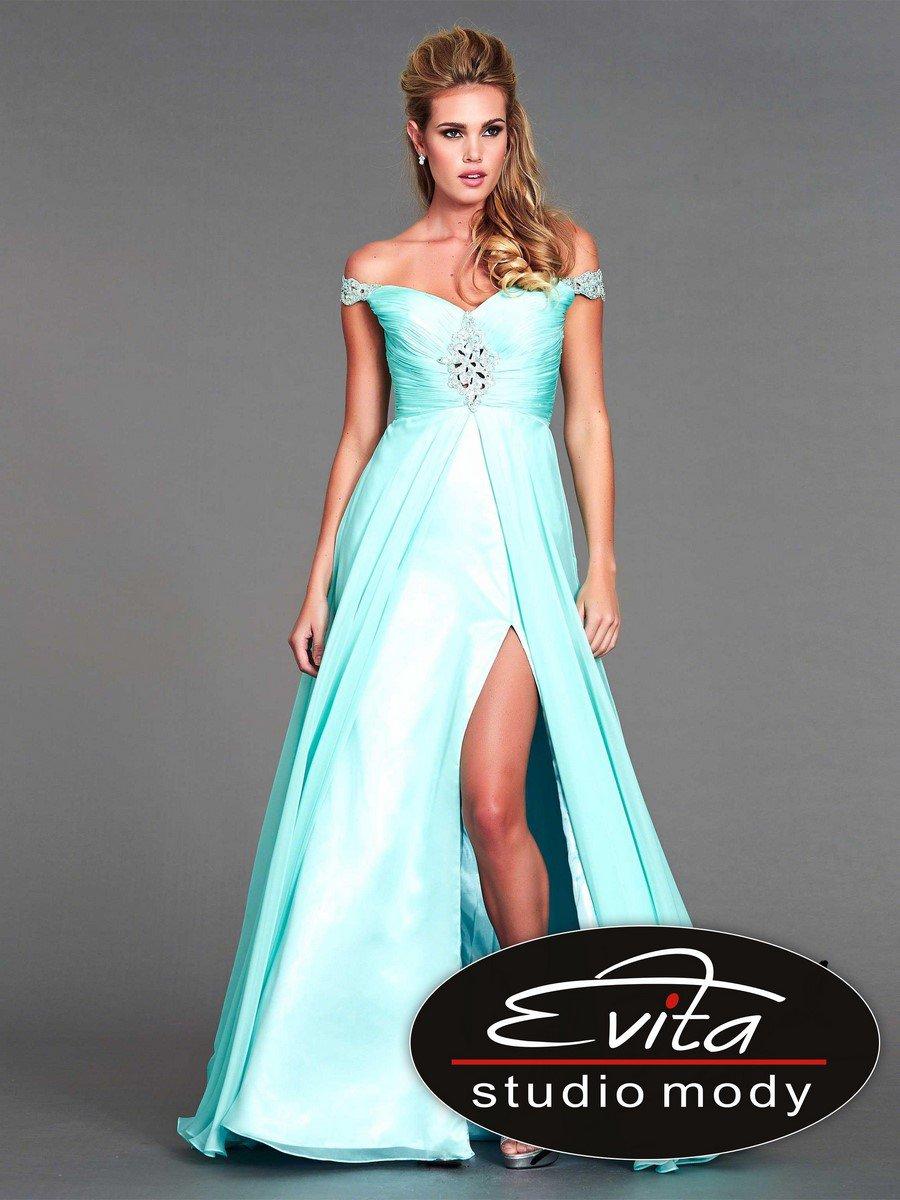 64807 suknia wieczorowa - Suknie wieczorowe