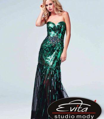 85089 połyskująca suknia wieczorowa