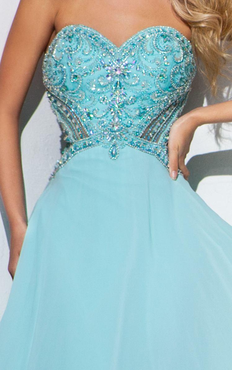 115513 brzoskwiniowa suknia wieczorowa - Suknie wieczorowe