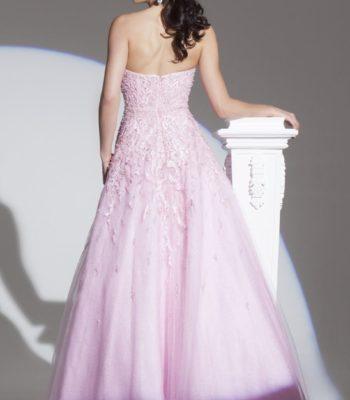 115703 różowa suknia balowa