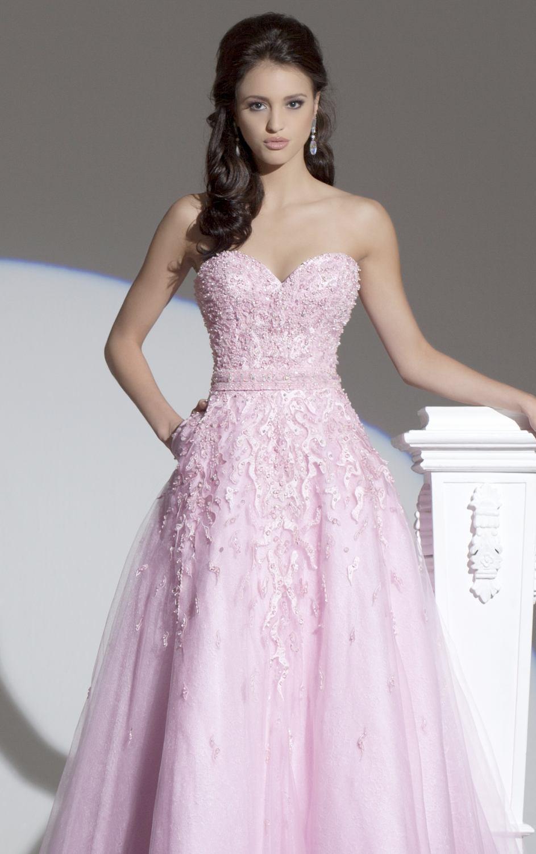 115703 różowa suknia balowa - Suknie wieczorowe