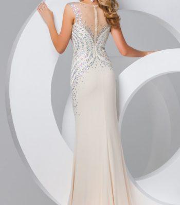 115722 błękitna suknia wieczorowa