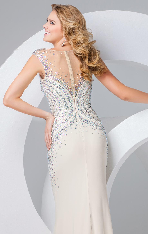 115722 błękitna suknia wieczorowa - Suknie wieczorowe