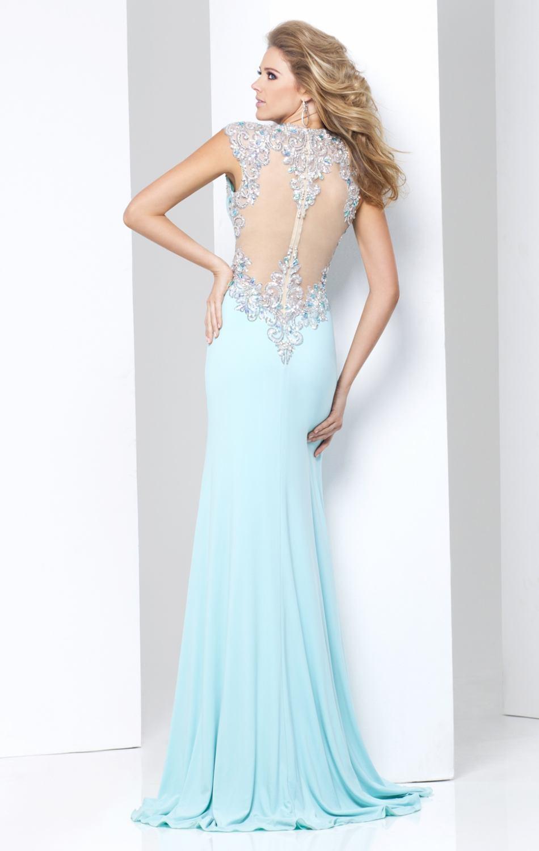 115728 biała suknia wieczorowa - Suknie wieczorowe