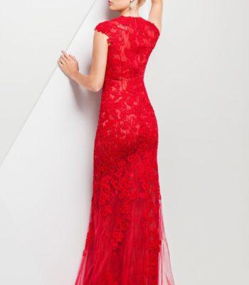 115755 koronkowa suknia wieczorowa