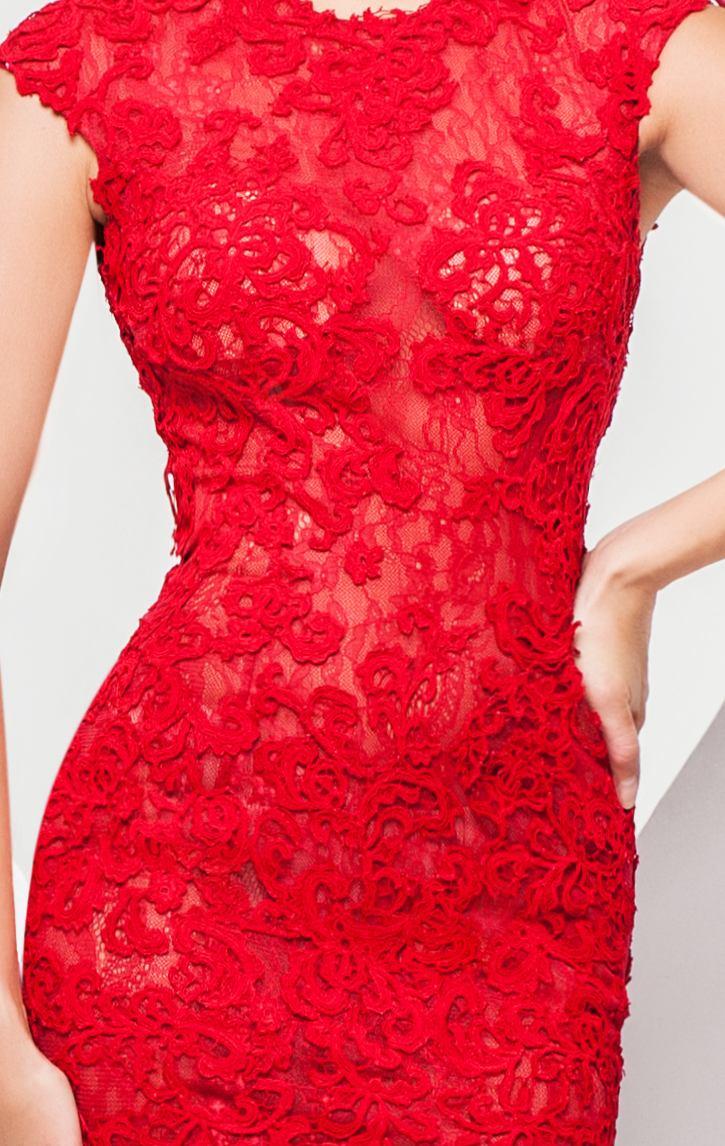 115755 koronkowa suknia wieczorowa - Suknie wieczorowe