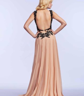 64992 suknia wieczorowa z gorsetem