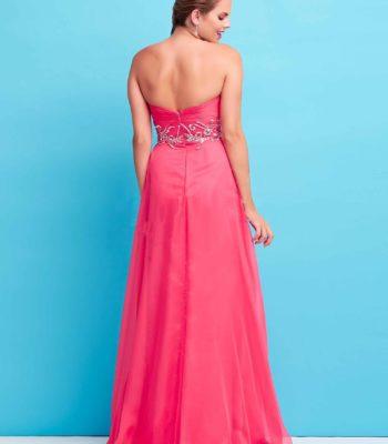 65110 różowa suknia wieczorowa
