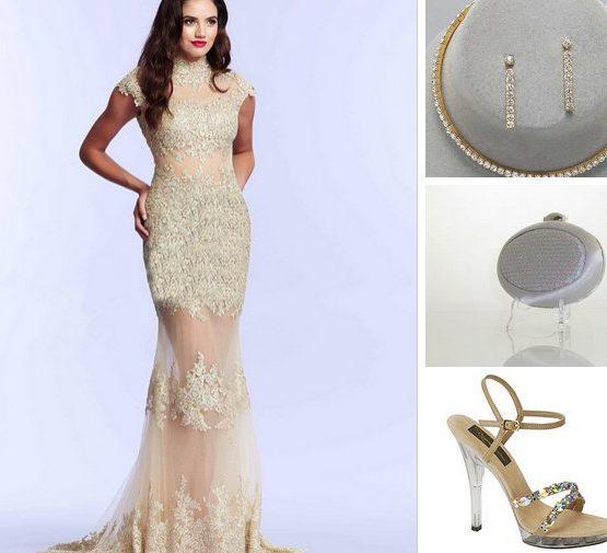 61922-2 suknia wieczorowa