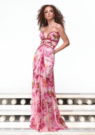 6318 suknia wieczorowa
