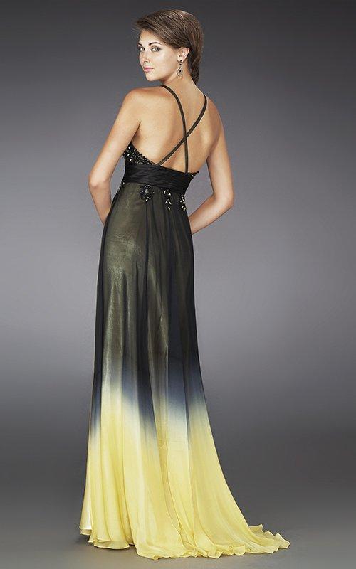 Suknia wieczorowa ombre 14353LF - Suknie wieczorowe