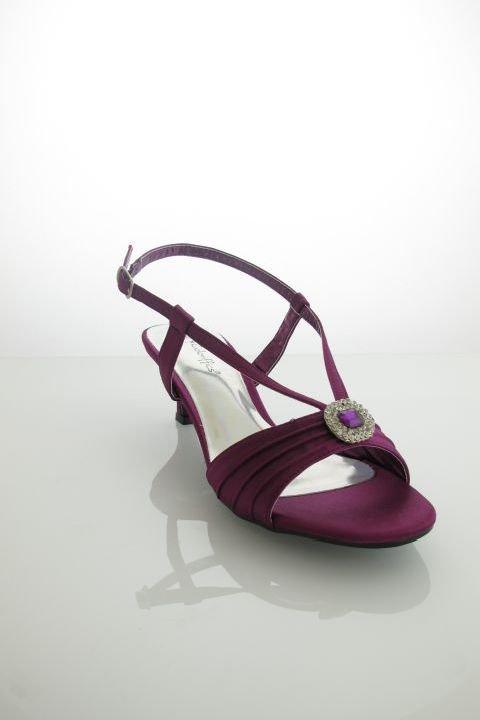 buty wieczorowe CARLY PURPLE