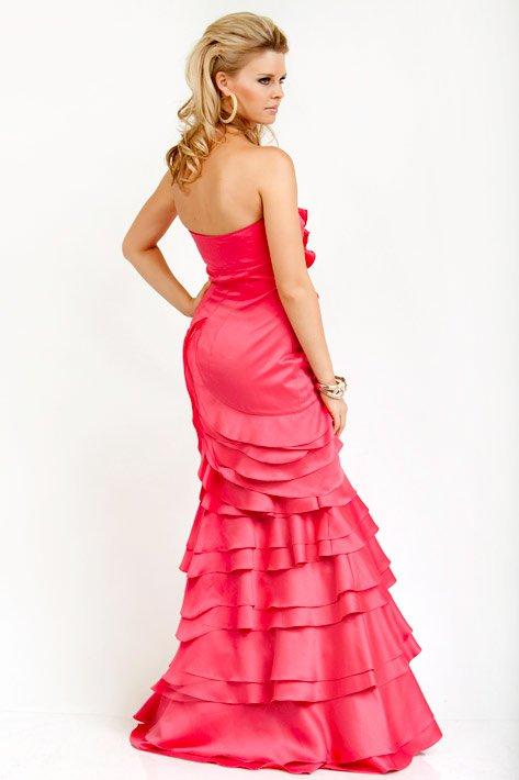Suknia 8323(J) - różowe/fioletowe