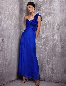 151627(J) suknia granatowa