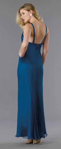 5773 sukienka wieczorowa - Niebieskie/granatowe