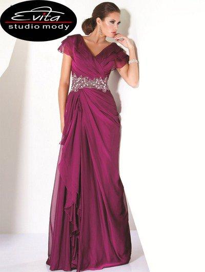 9666(J) suknia wieczorowa