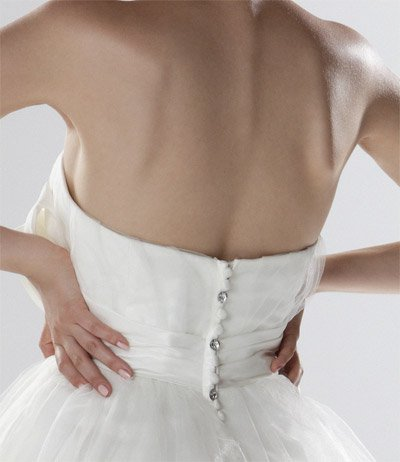 DARCEY suknia ślubna - KRÓTKIE