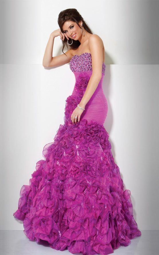 71441(J) suknia balowa