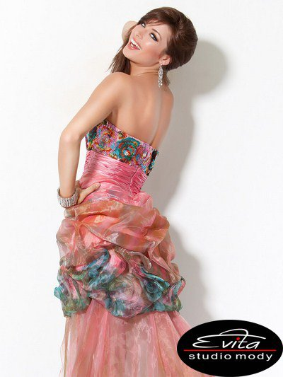 171734(J) suknia wieczorowa - Suknie wieczorowe