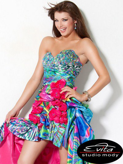 4259(J) sukienka balowa - Suknie wieczorowe