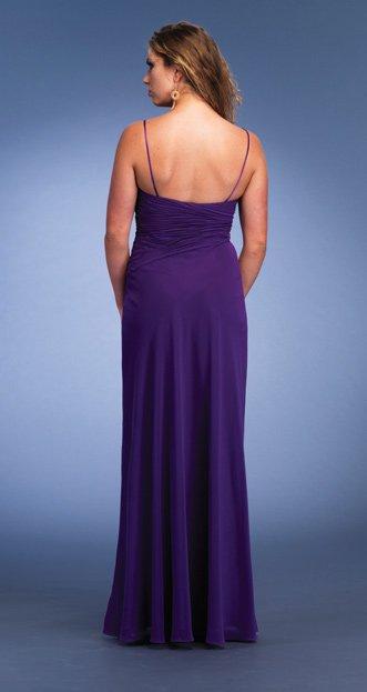 6440 suknia wieczorowa - Niebieskie/granatowe