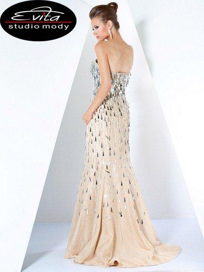 171672(J) sukienka sylwestrowa - Suknie wieczorowe