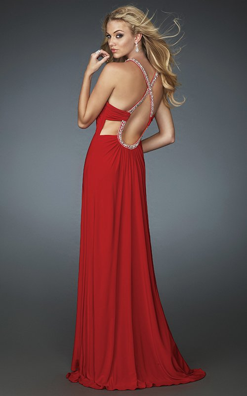 14790LF suknia wieczorowa - Suknie wieczorowe