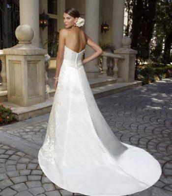 1980 suknia ślubna