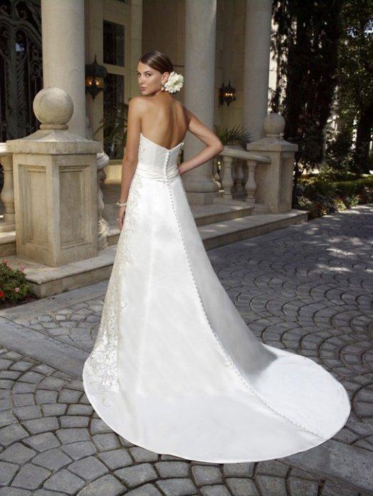 1980 suknia ślubna -