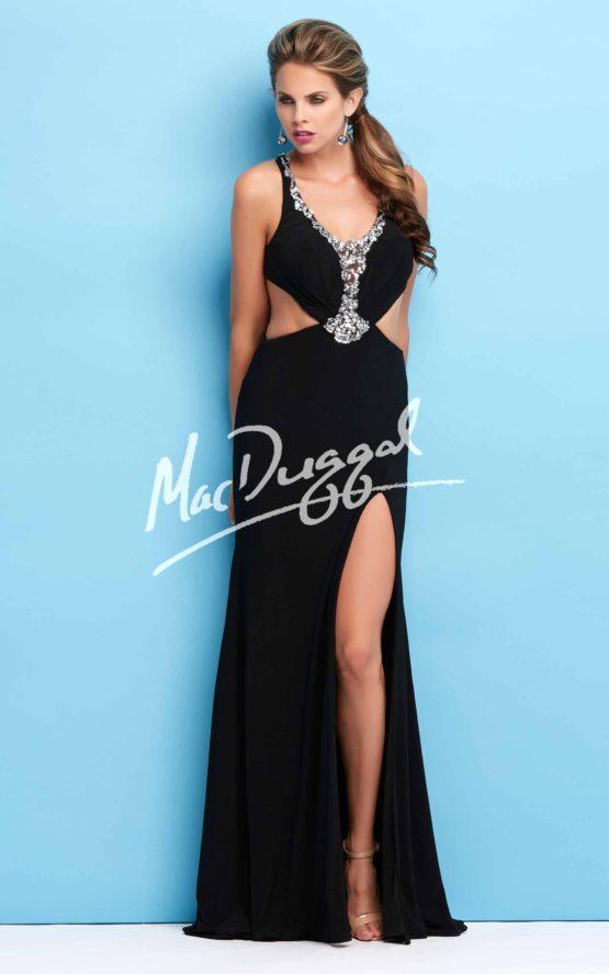 Suknia wieczorowa Mac Duggal 76808 black