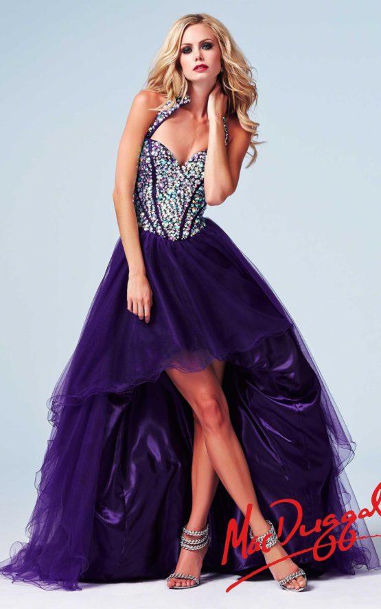 Suknia wieczorowa Mac Duggal 48133 purple