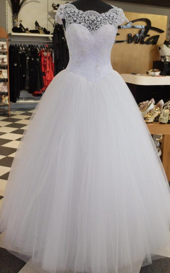 Balowa Suknia ślubna Z Gorsetem P152016 Evita