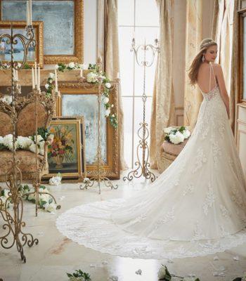 Suknia ślubna w fasonie syreny 2883